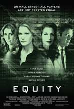 """Equity"" Movie Poster"