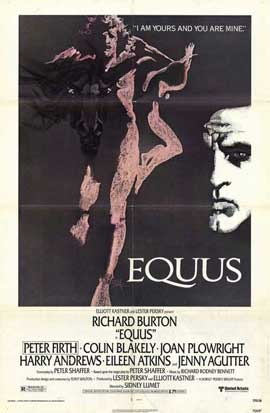 Equus - 11 x 17 Movie Poster - Style A