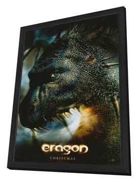 Eragon - 27 x 40 Movie Poster - Style B - in Deluxe Wood Frame