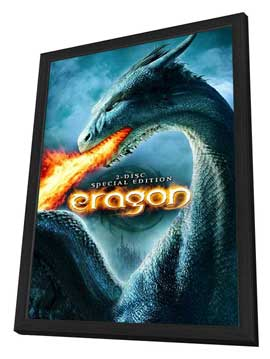 Eragon - 27 x 40 Movie Poster - Style H - in Deluxe Wood Frame