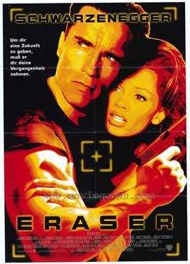 Eraser - 11 x 17 Movie Poster - German Style A