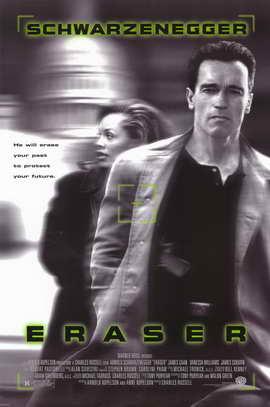 Eraser - 11 x 17 Movie Poster - Style B