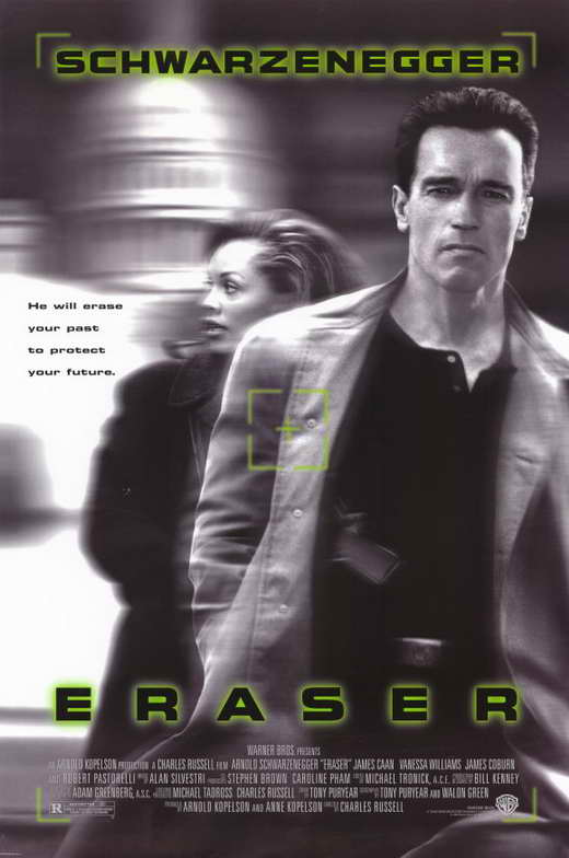 eraser movie posters from movie poster shop