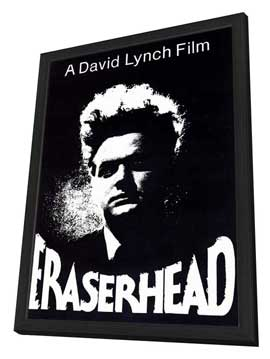Eraserhead - 27 x 40 Movie Poster - Style A - in Deluxe Wood Frame