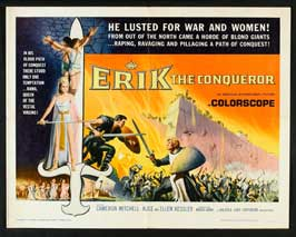 Erik the Conqueror - 22 x 28 Movie Poster - Half Sheet Style B