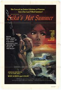 Erika's Hot Summer - 11 x 17 Movie Poster - Style A