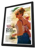 Erin Brockovich - 27 x 40 Movie Poster - Style A - in Deluxe Wood Frame