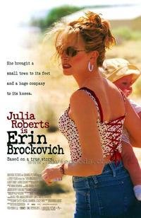 Erin Brockovich - 43 x 62 Movie Poster - Bus Shelter Style A
