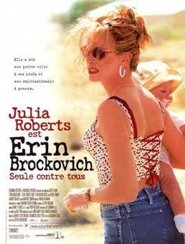 Erin Brockovich - 27 x 40 Movie Poster - French Style A