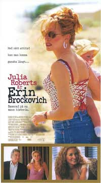 Erin Brockovich - 11 x 17 Movie Poster - Swedish Style A