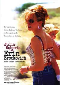 Erin Brockovich - 11 x 17 Movie Poster - German Style A
