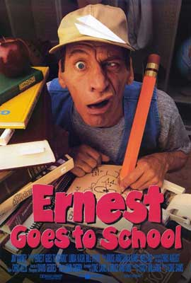 Ernest Goes to School - 27 x 40 Movie Poster - Style A