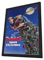 Ernest Saves Christmas - 11 x 17 Movie Poster - Style A - in Deluxe Wood Frame