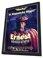 Ernest Scared Stupid - 11 x 17 Movie Poster - Style A - in Deluxe Wood Frame