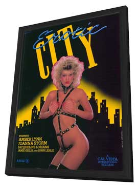 Erotic City - 11 x 17 Movie Poster - Style A - in Deluxe Wood Frame
