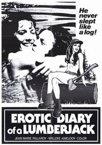 Erotic Diary of a Lumberjack - 11 x 17 Movie Poster - Style A