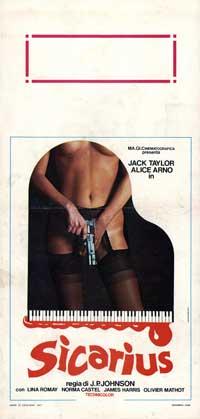 Erotic Kill - 13 x 28 Movie Poster - Italian Style A