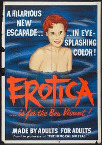 Erotica - 11 x 17 Movie Poster - Style A