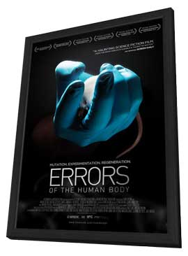 Errors of the Human Body - 27 x 40 Movie Poster - Style A - in Deluxe Wood Frame