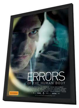 Errors of the Human Body - 11 x 17 Movie Poster - Australian Style A - in Deluxe Wood Frame