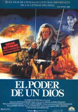 Es ist nicht leicht ein Gott zu sein - 11 x 17 Movie Poster - Spanish Style A