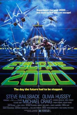 Escape 2000 - 11 x 17 Movie Poster - Style A