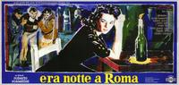 Escape by Night - 11 x 17 Movie Poster - Italian Style C