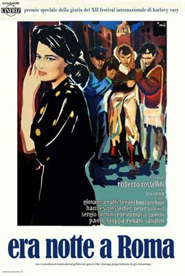 Escape by Night - 11 x 17 Movie Poster - Italian Style A