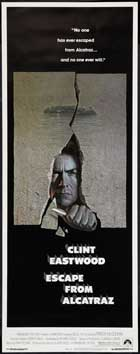 Escape from Alcatraz - 14 x 36 Movie Poster - Insert Style A