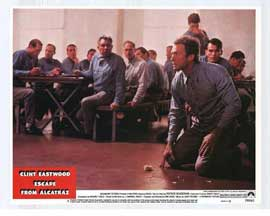 Escape from Alcatraz - 11 x 14 Movie Poster - Style C