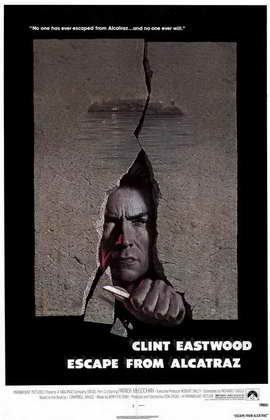 Escape from Alcatraz - 11 x 17 Movie Poster - Style A