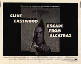 Escape from Alcatraz - 11 x 14 Movie Poster - Style H