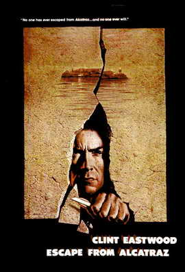 Escape from Alcatraz - 11 x 17 Movie Poster - Style B