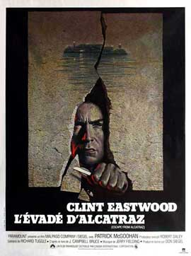 Escape from Alcatraz - 11 x 17 Movie Poster - French Style A