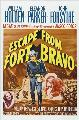 Escape from Fort Bravo - 27 x 40 Movie Poster - Style C