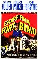 Escape from Fort Bravo - 27 x 40 Movie Poster - Style E
