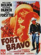 Escape from Fort Bravo - 11 x 17 Movie Poster - French Style A