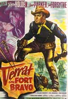 Escape from Fort Bravo - 11 x 17 Movie Poster - German Style A