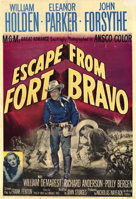 Escape from Fort Bravo - 11 x 17 Movie Poster - Style A