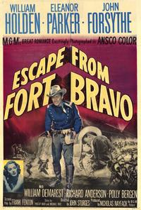 Escape from Fort Bravo - 27 x 40 Movie Poster - Style A