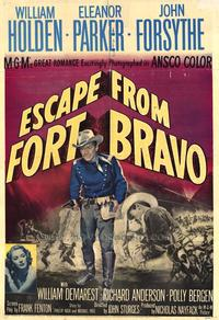Escape from Fort Bravo - 43 x 62 Movie Poster - Bus Shelter Style A