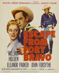 Escape from Fort Bravo - 27 x 40 Movie Poster - Style B