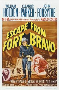 Escape from Fort Bravo - 11 x 17 Movie Poster - Style C