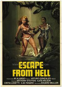 Escape From Hell - 27 x 40 Movie Poster - Style A