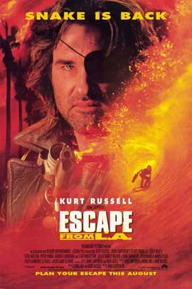Escape from L.A. - 11 x 17 Movie Poster - Style B