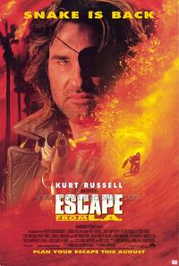 Escape from L.A. - 27 x 40 Movie Poster - Style B