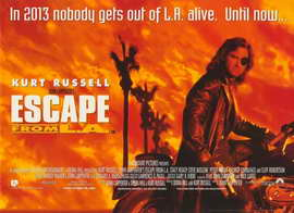 Escape from L.A. - 11 x 17 Movie Poster - Style C