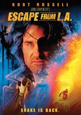 Escape from L.A. - 11 x 17 Movie Poster - Style D