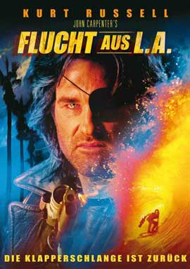 Escape from L.A. - 27 x 40 Movie Poster - German Style A