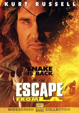 Escape from L.A. - 27 x 40 Movie Poster - Style D